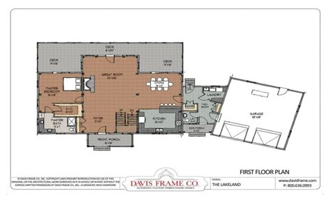 cottage open floor plan open floor plan design ideas open concept floor plans