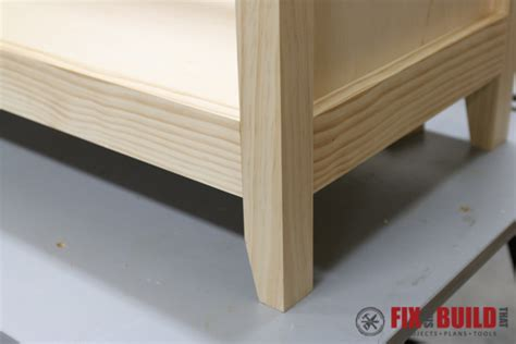Diy Buffet Cabinet by Diy Sideboard Cabinet Part 1 Fixthisbuildthat