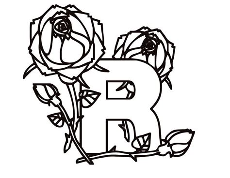 R Coloring Pages letter r coloring pages az coloring pages
