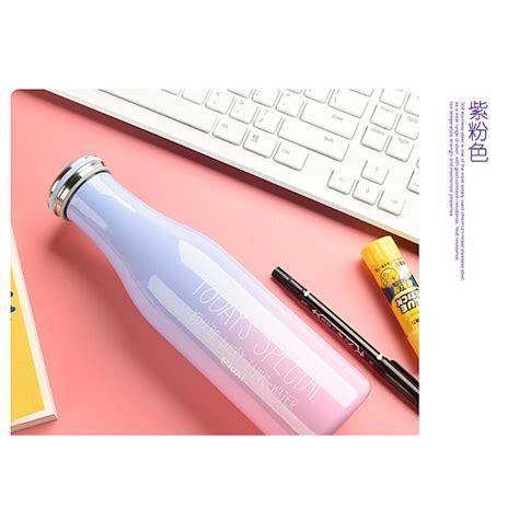 Botol Termos Insulasi Stainless Steel 500ml giuai botol minum stainless steel 500ml pink jakartanotebook