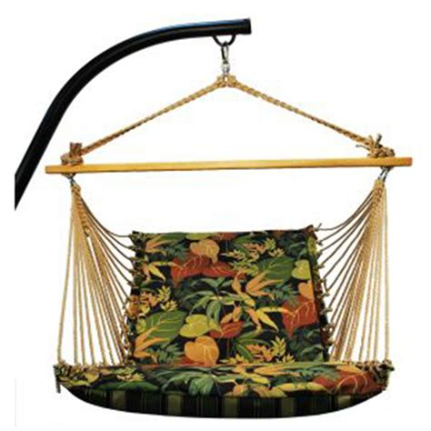 Hanging Patio Chair Algoma Hanging Chair And Cushion 180724 Patio Furniture At Sportsman S Guide