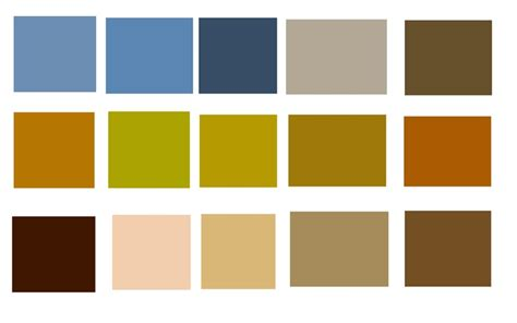 what colors are earth tones color swatches from adobe kuler earth natural top