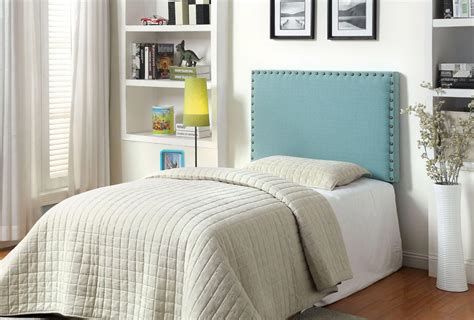 blue twin headboard queen blue upholster headboard