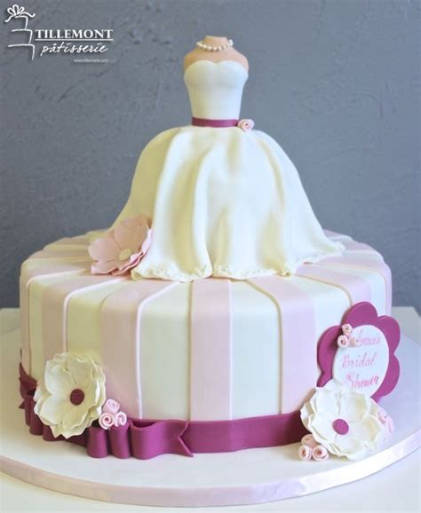 Bridal Shower Cakes by Bridal Shower Cakes Patisserie Tillemont Montreal