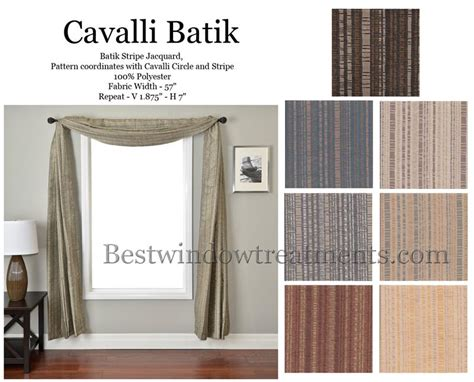 Cavali Batik cavalli batik scarf swag window topper