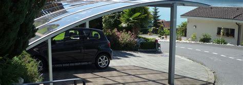 autounterstand glas carport und autounterstand aus schweizer produktion