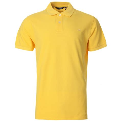 Polo S S T Shirt mens yellow polo t shirt