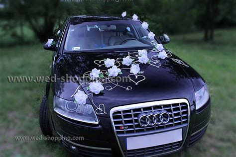 Wedding Car Kits Uk by Wedding Car Deco Kits Hearts And Flowers