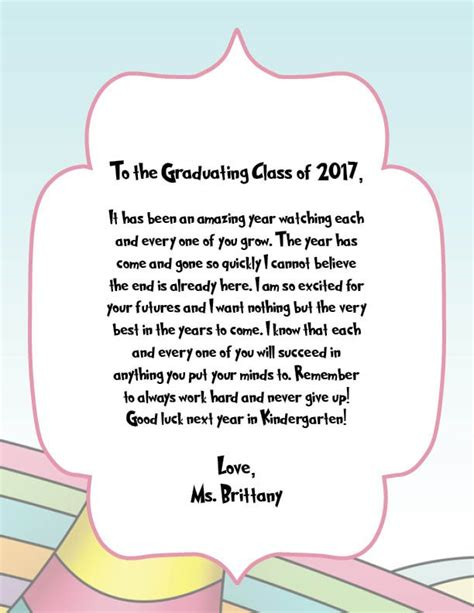 Graduation Letter To Students From graduation letters from our teachers harbor early