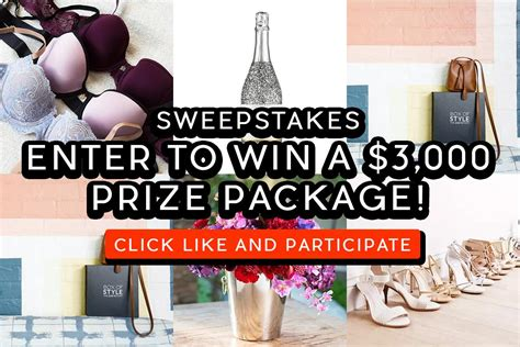 Enter Sweepstakes - sweepstakes enter to win a 3 000 prize package