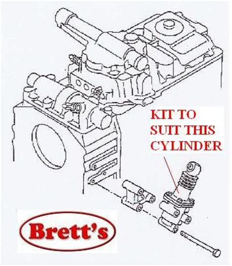 Sport Clutch Operating Kit Mitsubishi Fm215 12255 005 power servo kit for splitter mitsubishi fuso fm557 fm658 fm555 fm557 fm657 1995 1998