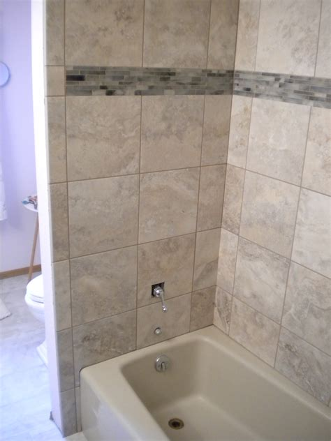 bathtub tile surround pictures tile showers and tub surrounds lockerd contracting