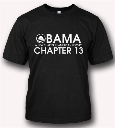 Tshirt Evolution Chap obama a new chapter in american history chapter 13 t shirt