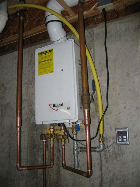 New Water Heater Tankless Demand Water Heaters