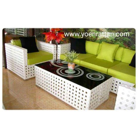 Kursi Anyaman Sintetis sofa rotan sintetis hereo sofa