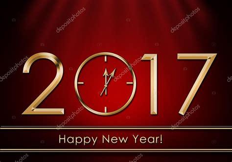 Anschreiben Happy New Year Heureuse Nouvelle 233 E 2017 Horloge De Nouvel An Photo 95525168