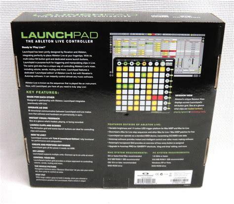 Novation Launch Original Novation Launchpad Ableton Live 8 Edition Standard Midi