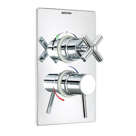 Bristan Shower Diverter Valve by Bristan Quadrant Concealed Dual Thermostatic