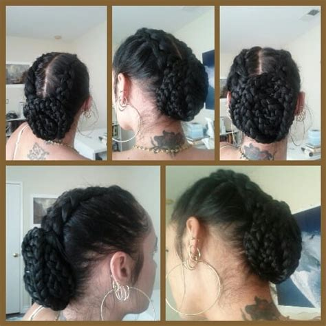 cornrows hair added jamis braid designz and dreads pinterest cornrows into bun yelp