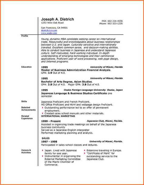 resume template word 2007 6 free resume templates microsoft word 2007 budget