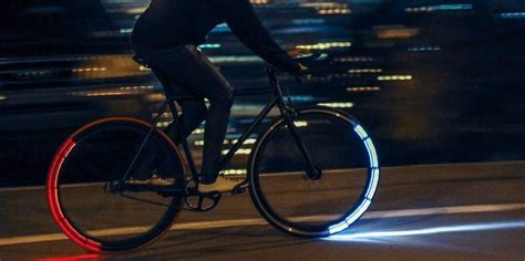 lights ride these futuristic bike lights are one of the best ways to