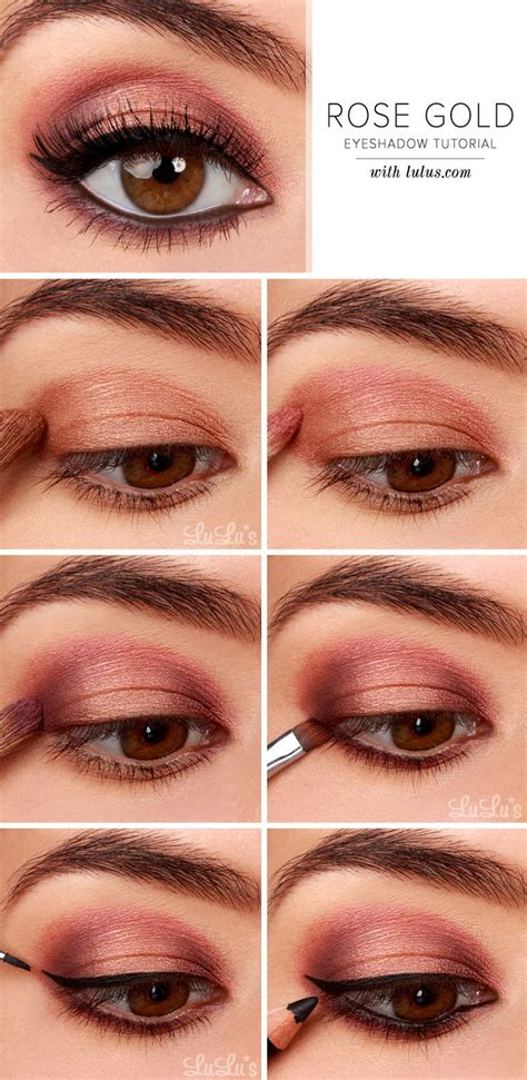 tuesday tutorial 4 makeup tips for four eyed gals 25 unique rose gold eyeshadow ideas on pinterest rose