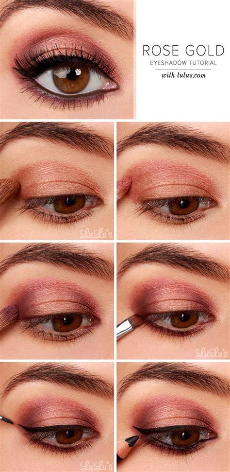 tutorial eyeshadow wardah seri d 25 unique rose gold eyeshadow ideas on pinterest rose