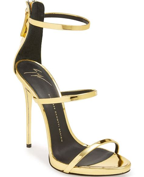 Heels Lj 05 Gold Best Buy Mollie King In Leather Wrap Dress And Gold
