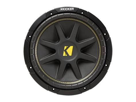 Kickers Safety 12 12 quot comp subwoofer 4 ohm dvc kicker 174