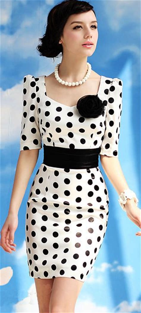 Dress Import Polkadot Supplier Dress Import retro dress polka dots and dots on