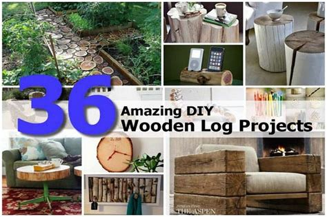 Chest Armoire 36 Amazing Diy Wooden Log Projects