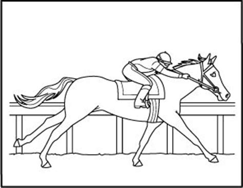 coloring pages of horses barrel racing horse racing coloring sheets and coloring pages on pinterest