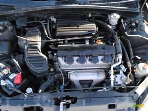 2004 Honda Civic Engine 2004 Honda Civic Lx Sedan 1 7l Sohc 16v Vtec 4 Cylinder