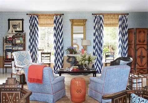 chevron curtains in living room navy blue chevron curtains cosy living room pinterest