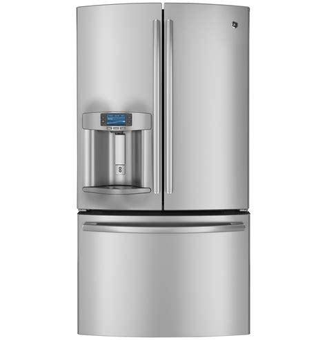 ge profile door fridge ge profile series 28 6 cu ft door refrigerator