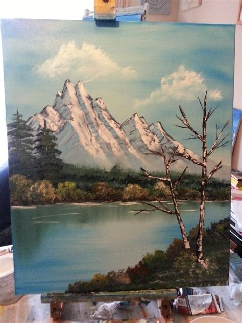 bob ross painting basics 50 best images about canvas on bobs
