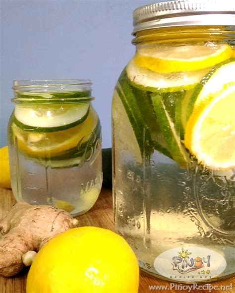 Recipe For Detox Water With Lemon Cucumber And Mint by Cucumber Lemon Water Recipe For Detox Recipes