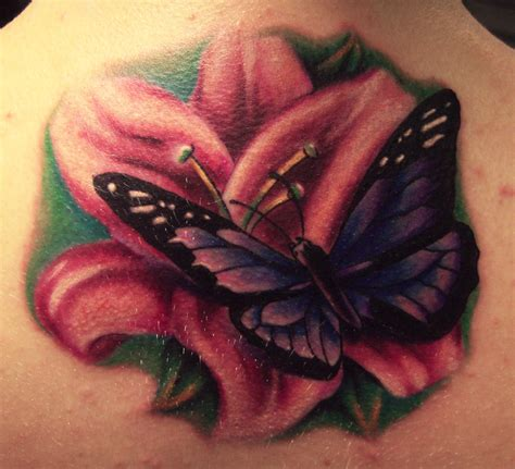 flower and butterfly tattoos tattoos of butterflies and flowers find a