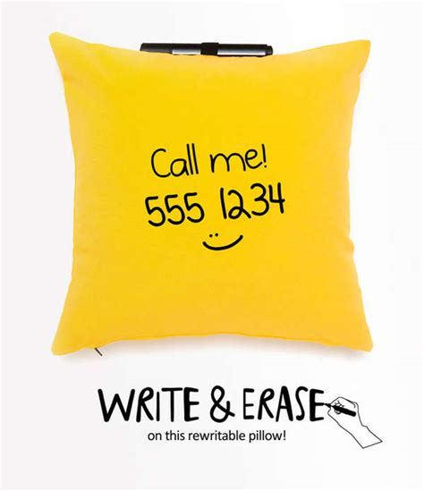 Note Me Pillow by Note Jotting Cushions Note Me Pillow