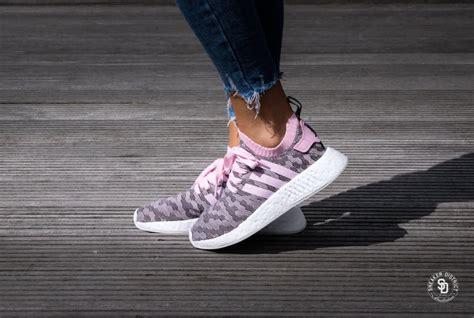 Adidas Nmd R2 Pk Pink Po adidas nmd r2 pk w pink black by9521