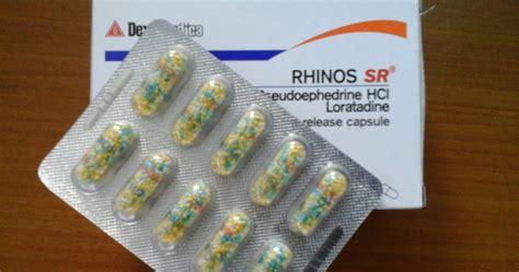 obat rhinos beserta penjelasan fungsi dan efek singnya
