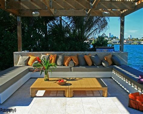 tropical patio outdoor furniture beach cottage porches