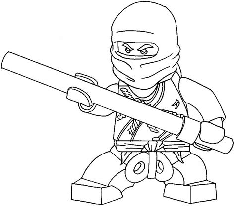 simple ninja coloring pages how to draw cole from lego ninjago with easy step by step