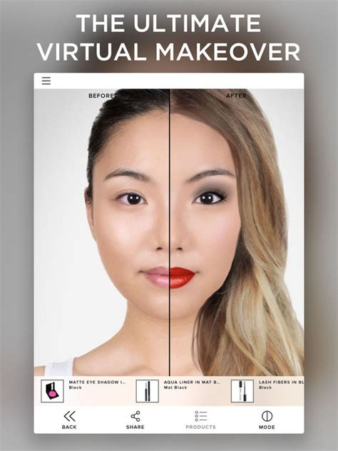 List Makeup Makeover makeover screenshot