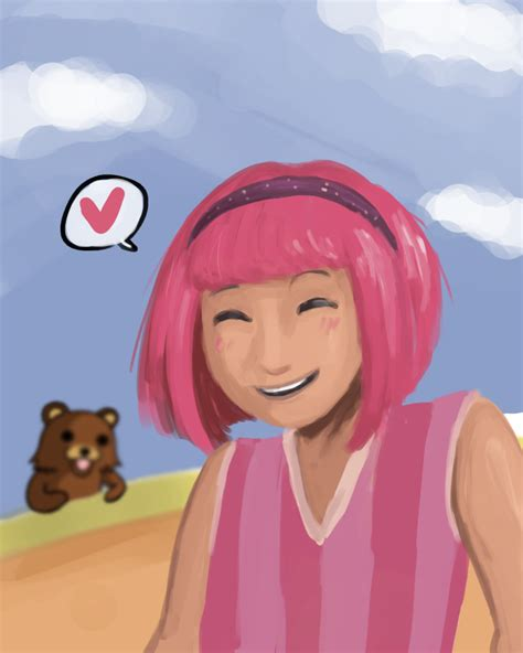 lazy town painting lazytown in a nutshell by on deviantart
