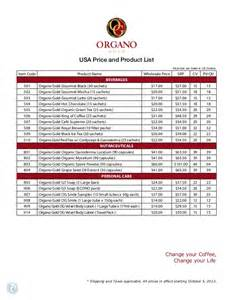 Canada Price List Organo Gold Los Angeles Price List