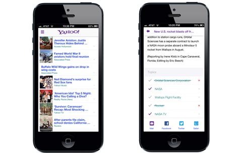 news mobile yahoo brings summly to iphone app cnet