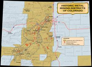 historic mining districts colorado geological survey