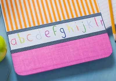 Handmade Clipboard - easy handmade clipboard gift project plaid