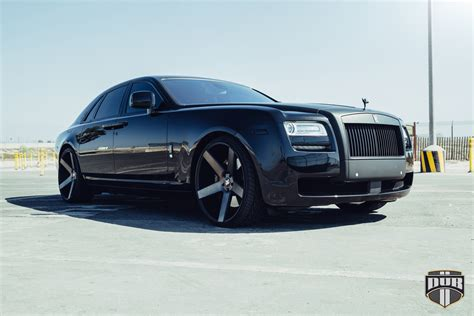 rolls royce wheels go big with dub wheels on a rolls royce ghost wheelhero